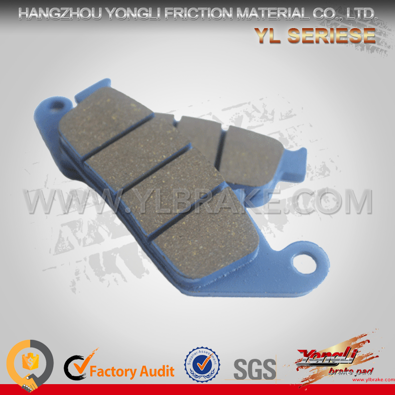 top quality brake pad for HONDA-CM125,brake disc pad Semi-metallic/ceramic brake pad,customized universal brake pads for motorcy