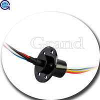 OD 22mm 18 circuits 2A electrical Capsule Slip ring Current Collector