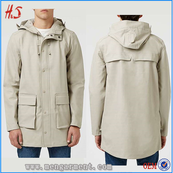 Fashion Clothing Supplier Wholesale High Quality Coat Stylish White Coat For Men