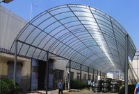 Polycarbonate covering carport/canopy/car awning