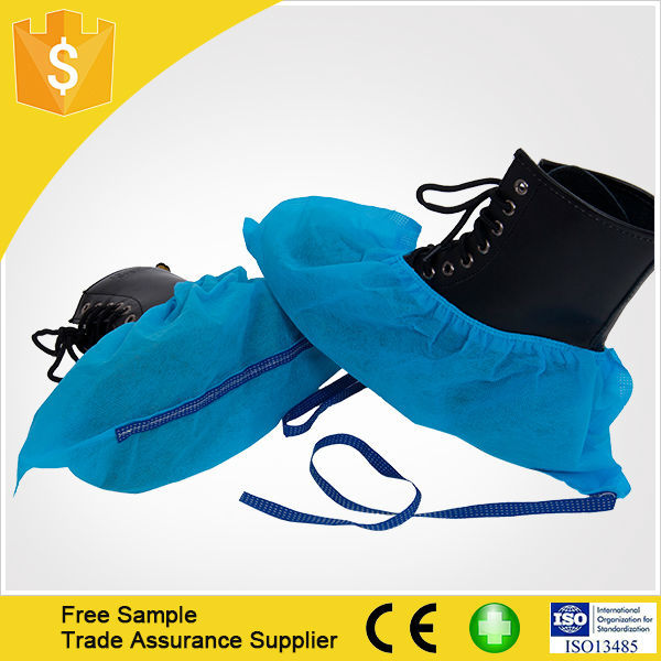 Non Woven Anti-slip ESD Shoe Cover Medical PP Disposable Fabric