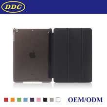 OEM Tablet PU Case with Smart Cover for Ipad Air
