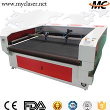 MC1810 Hot sale fabric 100w laser cutting machine for balsa wood