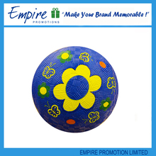 Logo Printed Branded promotional custom rubber playground ball