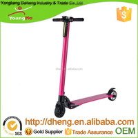 Carbon Fiber Material Folding Electric Scooter with 300W Power