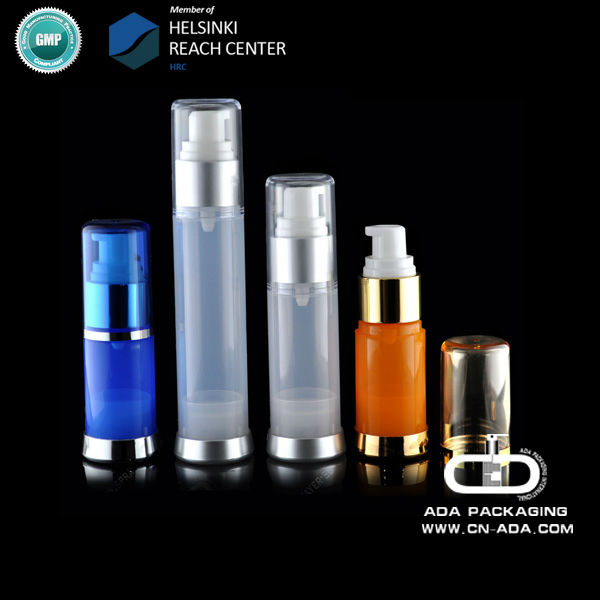 ADA-AB-209 15 30 35ml plastic cosmetic bottle/cosmetic airless bottle