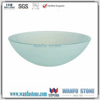 Special glass wash hand basins/wholesale wash sink/Corner wash basin for sale