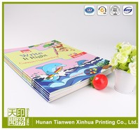 Professional cheap full color paper printing softcover book printing for children