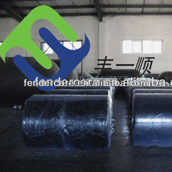 Solid SPUA floating fenders, EVA foam filled cushion used for boat,warship,dock,SEA made in China