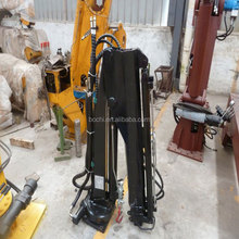 Lifting 3T Portable Lift Pick Up Crane With Telescopic Boom