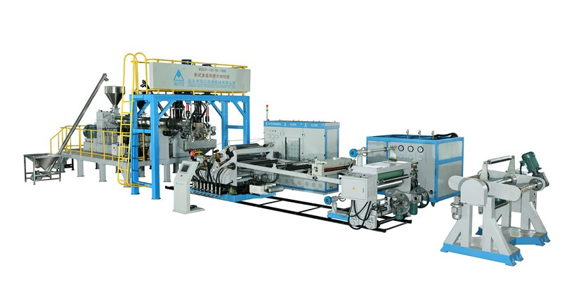 PS extruder making machine production line plastic pp sheet extrusion