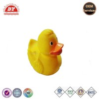 little yellow vinyl bath toy rubber duck for kids,bath duck custom ODM order with ICTI certification