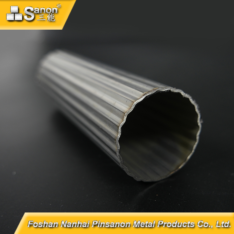 SANON Different Shaped Round /Square /Rectangular / Hexagonal Stainless Steel Tube