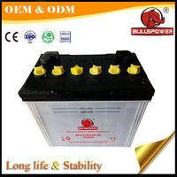 Powerful mf 12v 60 ah battery for electric start generator tricycle motorcycle