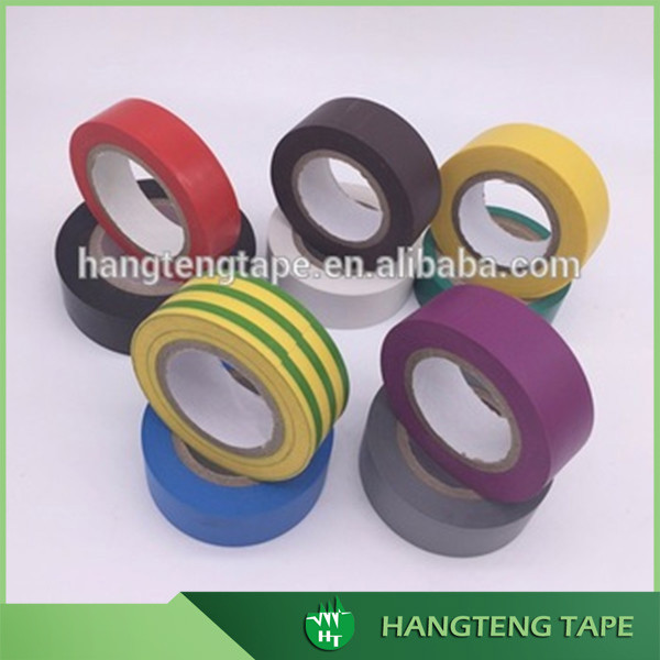 Free sample supply custom A grade adhesive pvc electrical tape