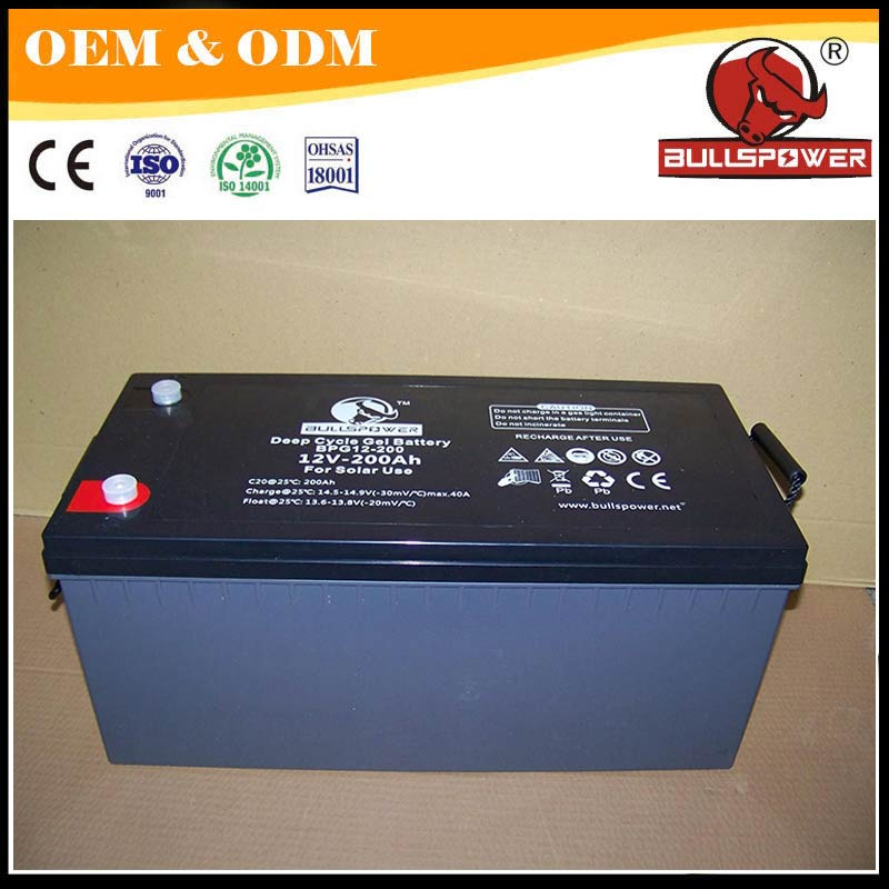 deep cycle dry cell lead acid battery 12-volt secondary battery 120ah