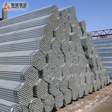 Prime Hot-dip Galvanized Steel Pipe for fence post capped