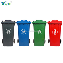 plastic food waste recycling bin hdpe wheelie color codes dustbin