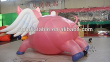 High quality inflatable pig, pink pig balloon for sale, advertising cold air balloon YG-6