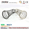 High quality cold zinc plated carbon steel material conical style and compression load type conical compression spring