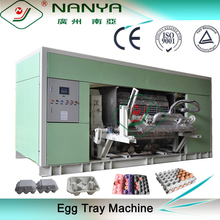 Stable Running Paper Molded Pulp Egg Tray Making Machinery / Industrial Package Production Line