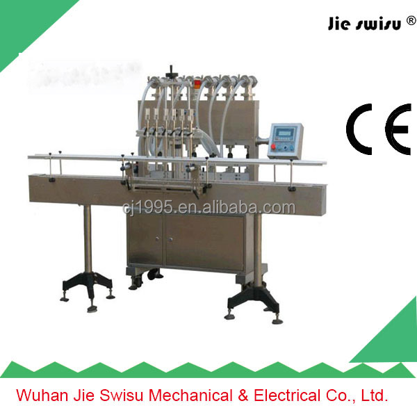 Industrial Dishwasher Liquid Detergent filling machine