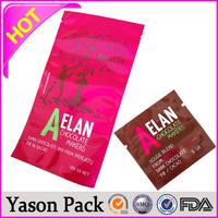YASON concrete plastic wire sleeve aluminium foil plastic packets/spice 10g bag break point type plastic trash bag