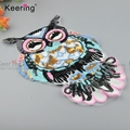 Keering Wholesale Beaded Embroidered Patches For Bag WPHA-014