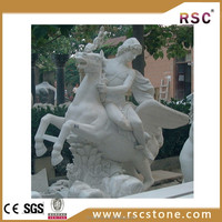 Magical marble statue carved horse in good quality