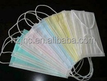 Disposable pp Spunbond Nonwoven Fabric Medical Face Mask