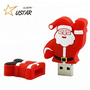 Christmas Promotional Gift High Speed USB 3.0 Flash Drives Custom Brand LOGO 8GB 6GB 32GB USB Flash Drive