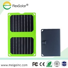 8.5W mini portable solar panel charger for smartphone outdoors