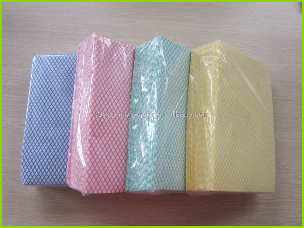 [Manufacturer]chemical bond nonwoven cleaning cloth,lightweight J cloths,basic household products