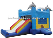 Hot selling Jumping castle combo,Cheap inflatable Bounce Castle n Slide