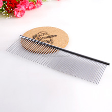 Pet Stainless Steel Grooming Tool Poodle Finishing Butter Comb P057