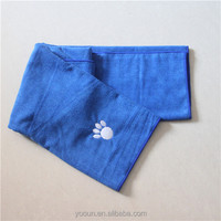 The embroidery microfiber cleaning cloth for pet for dog