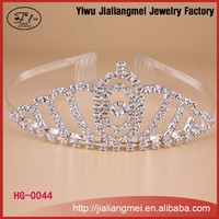 wholesale jewelry supplies china beauty shiny crystal pageant crown