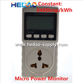 Power factor detection CO2 Emission Monitor Wireless power meter
