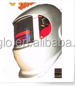 solar auto changing color welding mask
