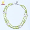 green cololr summer style genuine shell jewelry necklace