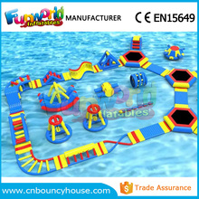2017 inflatable water fun air aqua park inflatable island subic