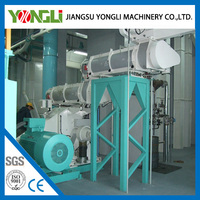 Aquaculture Farms Automatic Lubrication Poultry Feed Milling Machine