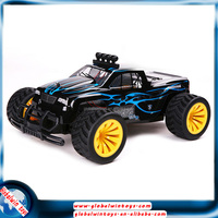 1/16 4x4 cheap drifting rc toy car, with lights on the hood for smart kid