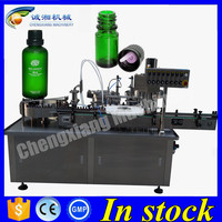 Shanghai essential oil bottling line,15ml essential oil filling capping machine