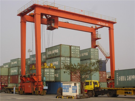 China Port Used Container Gantry Crane 42.5t With Sling
