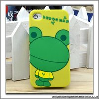 Frog design TPU phone cases for iphone 4s