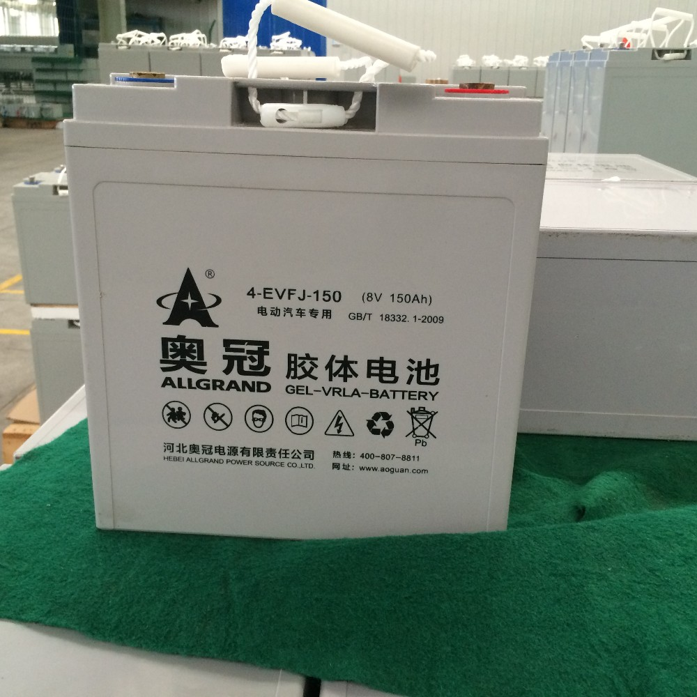 8V150Ah long way driving force supply EV car battery cheap price