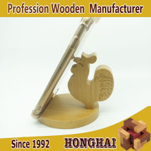 Chicken decoration wood carving support