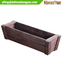 Rectangular Artificial Balcony Corner Flower Pot Planter