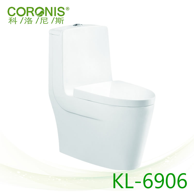 Sanitary Ware High Quality Ceramic One Piece Marine Man Compositing Toilet Bowl